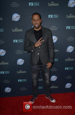 Affion Crockett - A variety of stars were photographed as they arrived to the Premiere of FX's 'The Comedians' which...