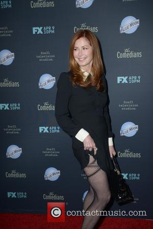 Dana Delany - A variety of stars were photographed as they arrived to the Premiere of FX's 'The Comedians' which...