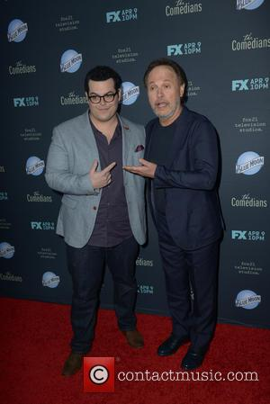 Josh Gad and Billy Crystal - A variety of stars were photographed as they arrived to the Premiere of FX's...