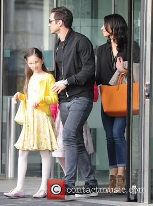 Frank Lampard and Christine Bleakley - Frank Lampard and Christine Bleakley seen out with his daughters in London after lunch...