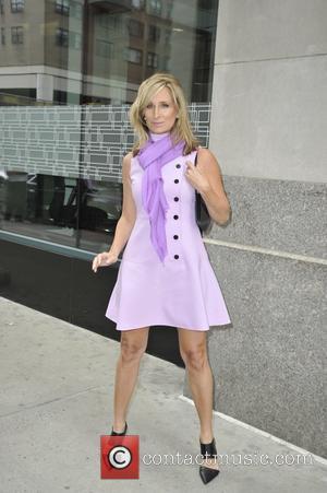 Sonja Morgan - Sonja Morgan at The Huffington Post - Manhattan, New York, United States - Tuesday 7th April 2015