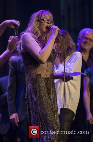 Courtney Love - Shots of a variety of stars as they Celebrated the 60th anniversary of Allen Ginsberg's Howl with...