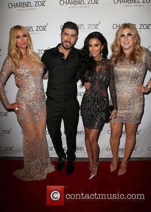 Paris Hilton, Charbel Zoe, Lilly Ghalichi and Jennifer Hermz
