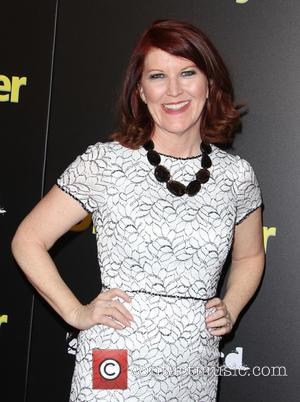 Kate Flannery - A variety of stars were snapped as they attended the premiere of 'Dial A Prayer' which was...