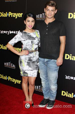 Chrissie Fit and Garrett Clayton - A variety of stars were snapped as they attended the premiere of 'Dial A...