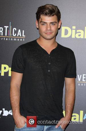 Garrett Clayton - A variety of stars were snapped as they attended the premiere of 'Dial A Prayer' which was...