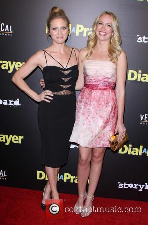 Brittany Snow and Anna Camp - A variety of stars were snapped as they attended the premiere of 'Dial A...