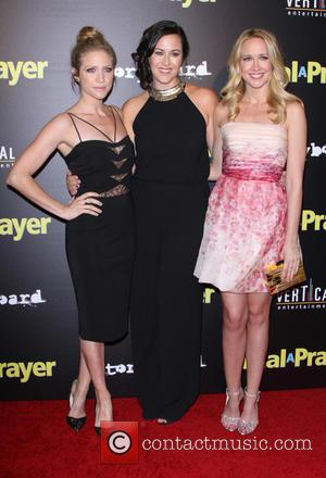Brittany Snow, Maggie Kiley and Anna Camp