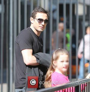 Frank Lampard and Isla Lampard - Frank Lampard and his two girls arrive at ITV Studios to meet Christine Bleakley...