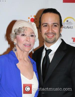 Rita Moreno and Lin-manuel Miranda