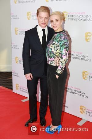 Freddie Fox and Amanda Abbington - House of Fraser British Academy Television Awards Nominations Announcement Photocall at BAFTA at BAFTA...