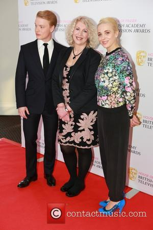 Freddie Fox, Anne Morrison and Amanda Abbington