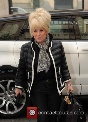 Barbara Windsor - Barbara Windsor sighting at BBC Radio 2 - London, United Kingdom - Wednesday 8th April 2015