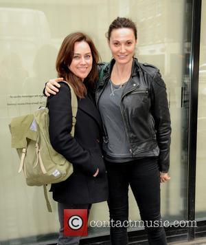 Jill Halfpenny and Sarah Parish