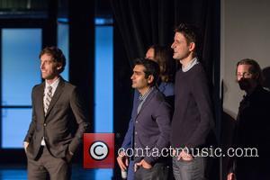 Thomas Middleditch, Kumail Nanjiani and Zach Woods