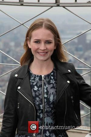 Britt Robertson - The Empire State Building hosts Scott Eastwood and Britt Robertson stars of 20th Century Fox's The Longest...