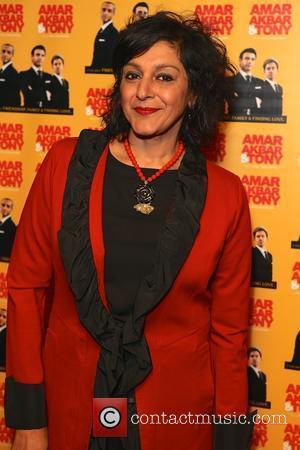 Meera Syal - 'Amar Akbar & Tony' British premiere at Cineworld Haymarket - Arrivals at Cineworld - London, United Kingdom...