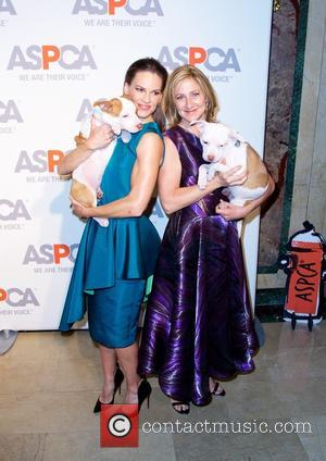 Hilary Swank and Edie Falco