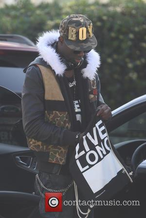 Sam Sarpong - BET host and recent 'Bones' guest star Sam Sarpong spotted leaving a recording studio in West Hollywood...