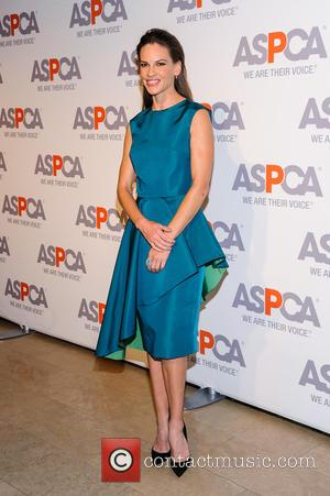 Hilary Swank - 18th Annual ASPCA Bergh Ball at The Plaza Hotel - New York, New York, United States -...