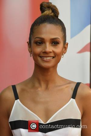 Alesha Dixon - Celebrity Judges attends Britain's Got Talent red carpet arrivals at the Mayfair Hotel in London. at Britain's...