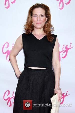 Ana Gasteyer - Shots of a host of stars as they arrived for the opening night of Broadway musical Gigi...