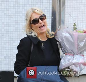 Gaby Roslin - Gaby Roslin outside the ITV Studios - London, United Kingdom - Thursday 9th April 2015