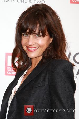 Carla Gugino - Opening day for Wolf Hall Part 1 and 2 at the Winter Garden Theatre - Arrivals. at...