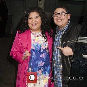 Raini Rodriguez and Rico Rodriguez - Celebrities arrive at HuffPost Studios for 'HuffPost Live' - New York, New York, United...