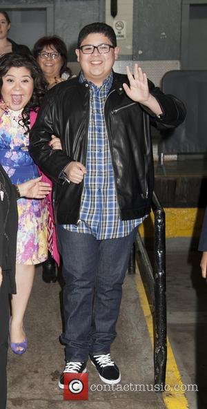 Rico Rodriguez - Celebrities arrive at HuffPost Studios for 'HuffPost Live' - New York, New York, United States - Friday...