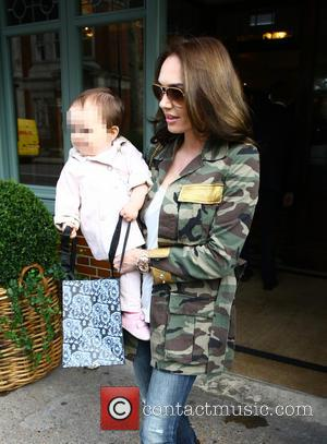 Tamara Ecclestone and Sophia Ecclestone - Tamara Ecclestone leaving The Ivy with her daughter Sophia at chelsea - London, United...