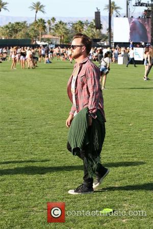 Aaron Paul - Aaron Paul at Coachella 2015 - Week 1 - Day 1 at Coachella - Los Angeles, California,...