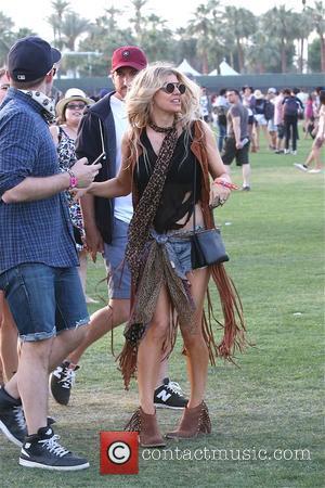 Fergie - Fergie at Coachella 2015 - Week 1 - Day 1 at Coachella - Los Angeles, California, United States...