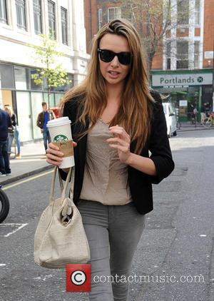 Nadine Coyle - Nadine Coyle at the BBC Radio 1 studios - London, United Kingdom - Friday 10th April 2015