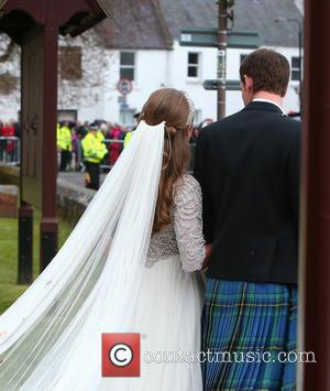 Andy Murray and Kim Sears - The wedding of Andy Murray and Kim Sears at Dunblane Cathedral - Dunblane Scotland,...