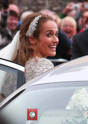 Kim Sears - The wedding of Andy Murray and Kim Sears at Dunblane Cathedral - Dunblane Scotland, United Kingdom -...