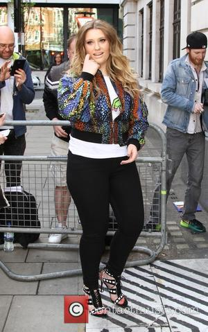 Ella Henderson - Ella Henderson arrives at BBC Radio 2 - London, United Kingdom - Saturday 11th April 2015