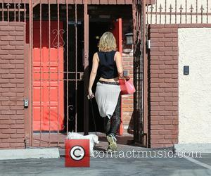Kym Johnson - Celebrities outside the 'Dancing With The Stars' rehearsal studios at Dancing With The Stars rehearsal studio -...
