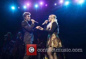Nathan Sykes Makes Surprise Appearance At Meghan Trainor's Birmingham Gig [Photos]