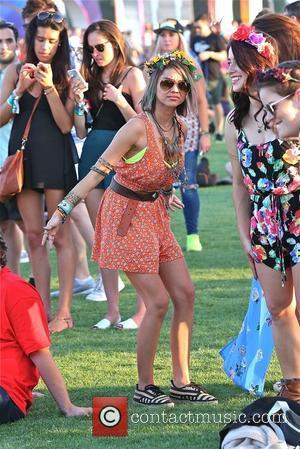Sarah Hyland - Coachella 2015 - Week 1 - Day 2 - Celebrity Sightings and Performances at Coachella - Los...