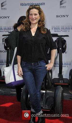 Ana Gasteyer - New York premiere of 'Paul Blart: Mall Cop 2' - Arrivals - New York, United States -...