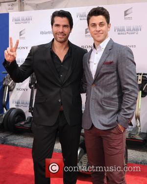 David Henrie and Eduardo Verastegui - A host of celebrities were photographed as they arrived to the Premiere of 'Paul...