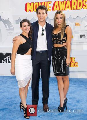 Guest, Miles Teller and Keleigh Sperry