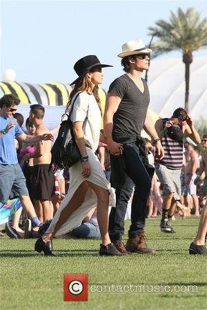 Ian Somerhalder and Nikki Reed - Ian Somerhalder and Nikki Reed enjoy Coachella 2015 at Coachella - Los Angeles, California,...