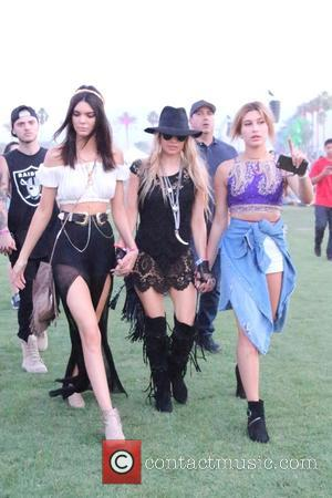 Kendall Jenner, Stacy Ferguson and Hailey Baldwin