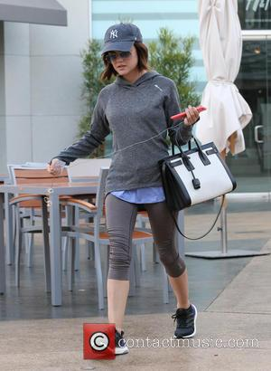 Lucy Hale - 'Pretty Little Liars' actress Lucy Hale visits Equinox Gym in West Hollywood - Los Angeles, California, United...