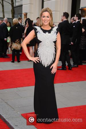 Claire Sweeney - The Olivier Awards held at the Royal Opera House - Arrivals - London, United Kingdom - Sunday...