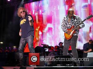 Sammy Hagar and Vic Johnson