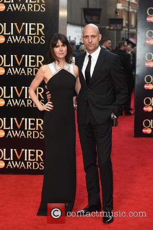 Mark Strong and Liza Marshall