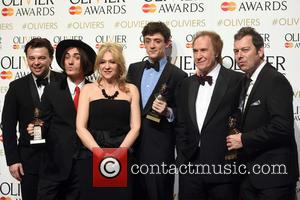 Edward Hall, George Maguire, Sonia Friedman, John Dagleish, Ray Davies and Joe Penhall